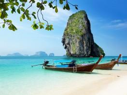 Railay-beach-in-Krabi-Thailand---Krabi